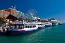 Navy Pier in Chicago (Photo by: Hao$ - Flickr)