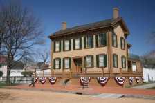 Lincoln Home (Photo by: Daniel Schwen - Wikimedia Commons)